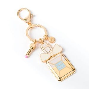NIQUEA.D Ombre Perfume Bottle Keychain